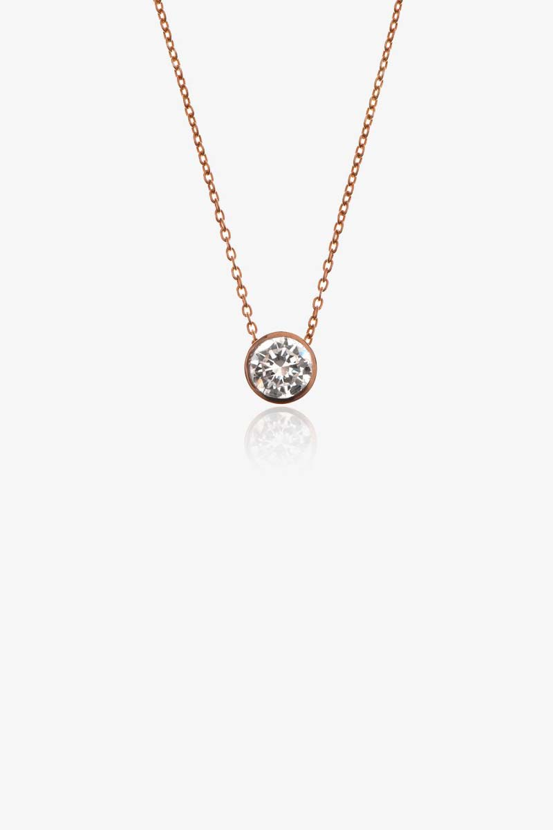 Solar Diamond Necklace