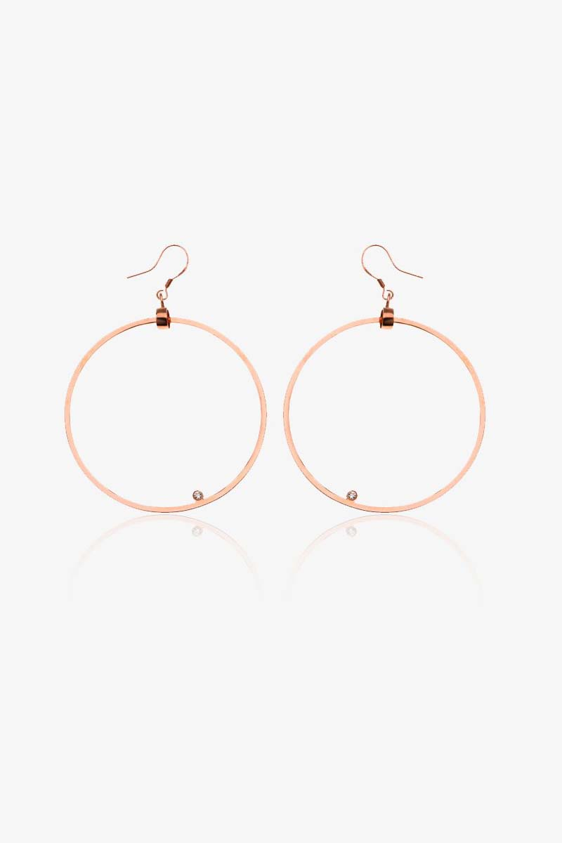 Circle Shape Earrings