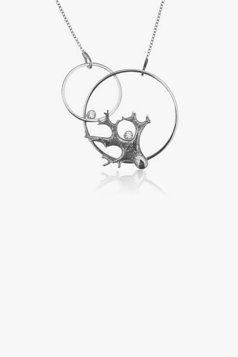 Lichen Shape Necklace
