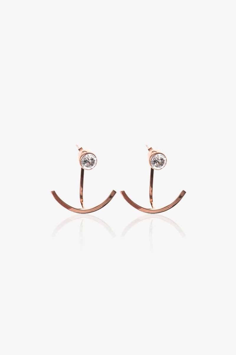 Solar Diamond Earrings